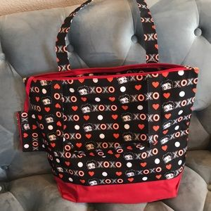 NWT Betty Boop Tote Bag with Coin Purse